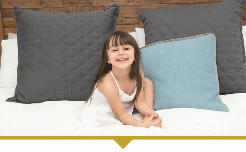 Family Dentistry Child on Bed